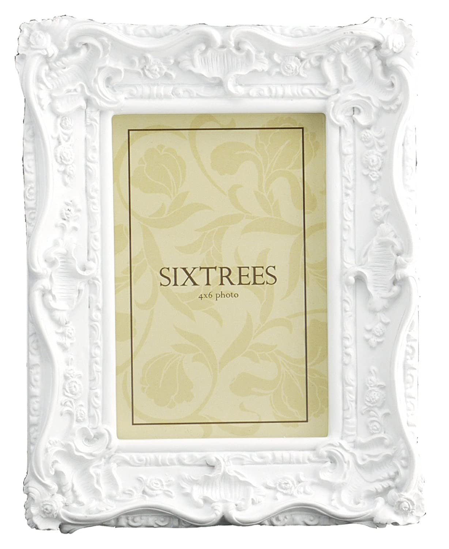 Amazon.de: Antik Weiß Vintage Kunstvoller Bilderrahmen 10, 2 x 15, 2 cm