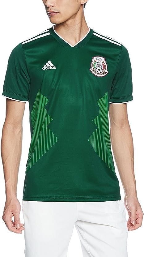 Mexico Soccer Men Jersey 2018 Word Cup Green Replica M