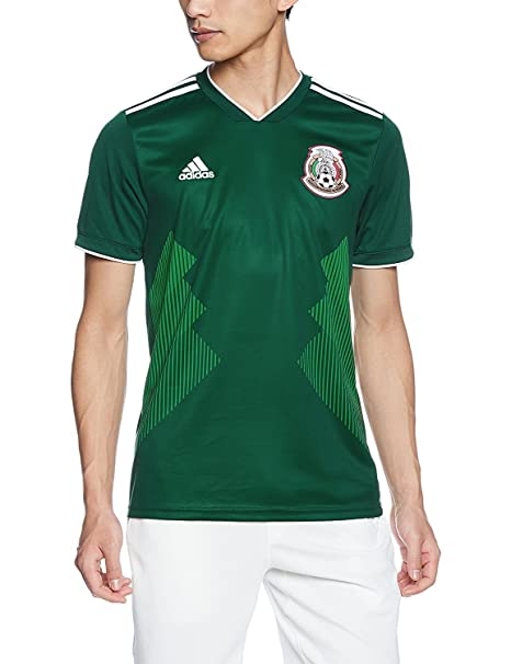 Amazon.com   adidas Mexico 2018 Home Replica Jersey   Sports   Outdoors 1fa6ce82c986b