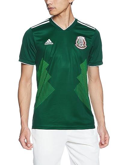 81451a56e38 Amazon.com: adidas Mens 2018 Mexico Home Replica Jersey: Sports & Outdoors