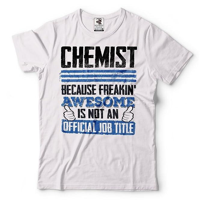Silk Road Tees Químico de la Camiseta de los Hombres Divertidos de la Química Profesión Camiseta