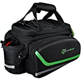RockBros Bike Bag Rear Carrier Bag Rear Pack Trunk Pannier