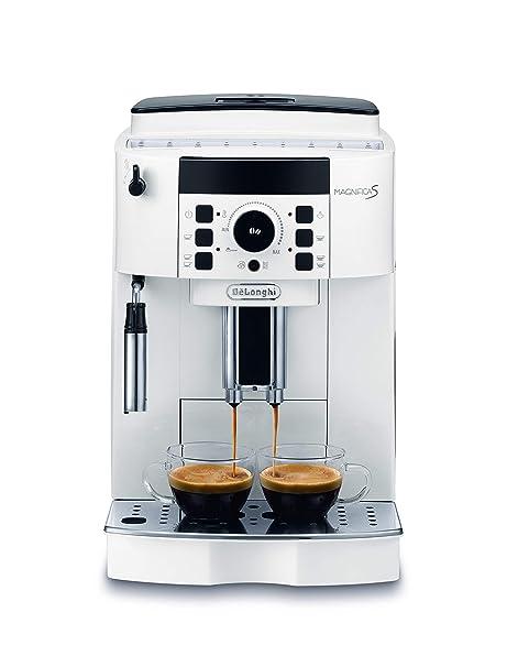 DeLonghi ECAM 21.110.W Cafetera automática, 1450 W, 1.8 litros ...
