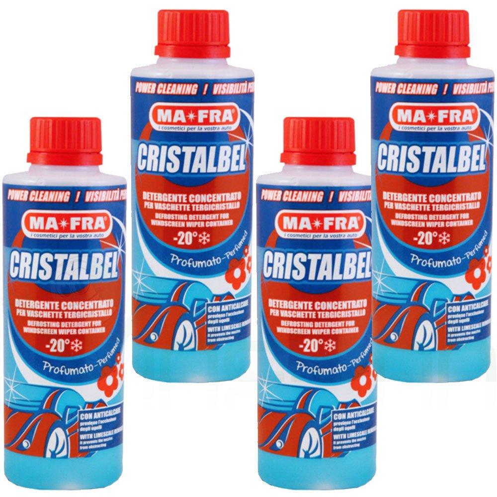 4 x limpiador líquido Parabrisas Ma Fra cristalbel Bandeja para limpiaparabrisas coche: Amazon.es: Electrónica