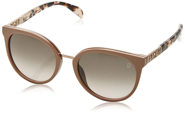Tous Mujer STO997 Gafas de sol, Beige (Shiny Pale Pink Beige)