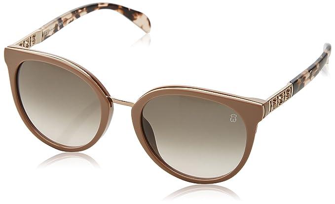 Tous Mujer STO997 Gafas de sol, Beige (Shiny Pale Pink Beige ...
