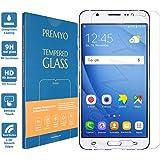 PREMYO Compatible con Cristal Templado Samsung Galaxy J7 2016