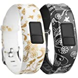 eFithy Replacement High Quality Silicone Wristbands for Garmin Vivofit 3/Vivofit Jr