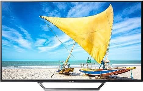 "Smart TV, LED, 48"", Sony, KDL-48W655D, Full HD, Preto"