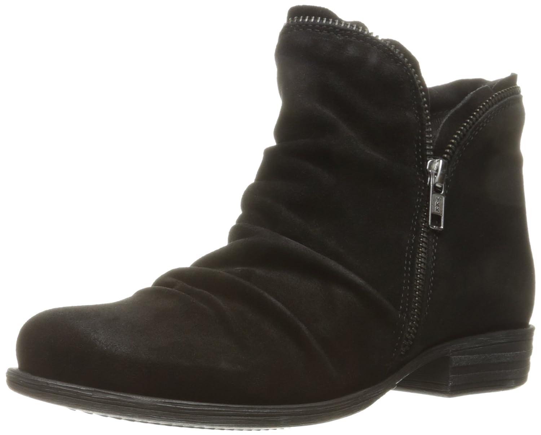 Miz Mooz Women's Luna Ankle Boot B01F7FLVMS 7 B(M) US|Black Suede