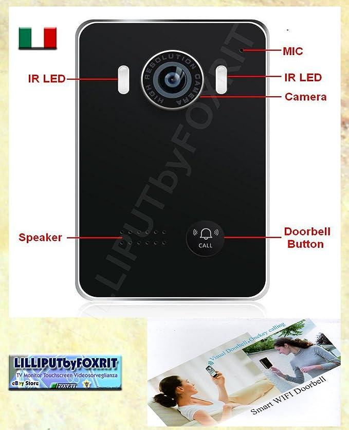 CÁMARA DE VIDEOVIGILANCIA PORTERO K DOOR APLICACIÓN PARA IOS Y ANDROID SMARTPHONE: Amazon.es: Electrónica