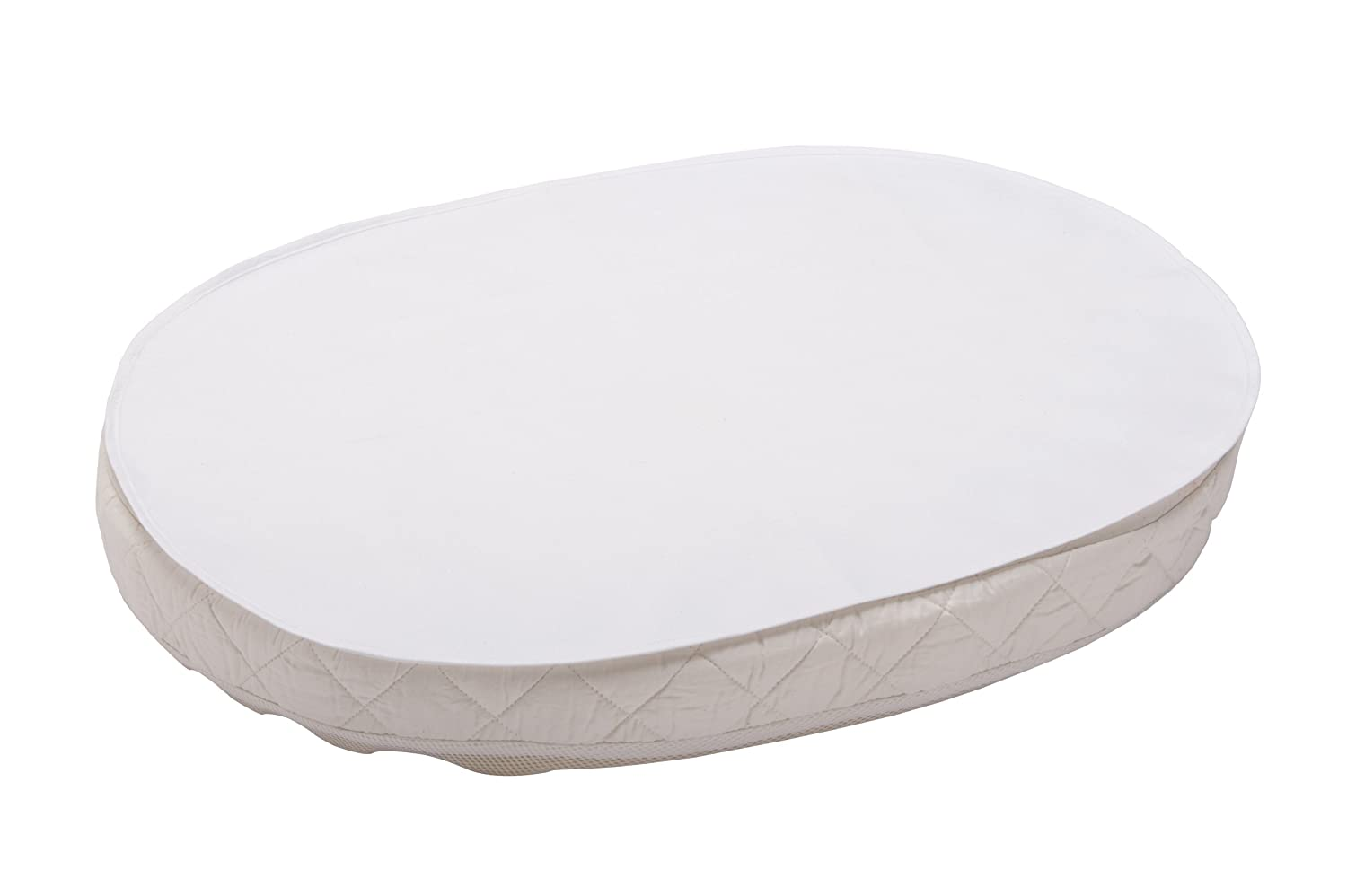 Stokke Sleepi Crib Protection Sheet Oval Sheet in White