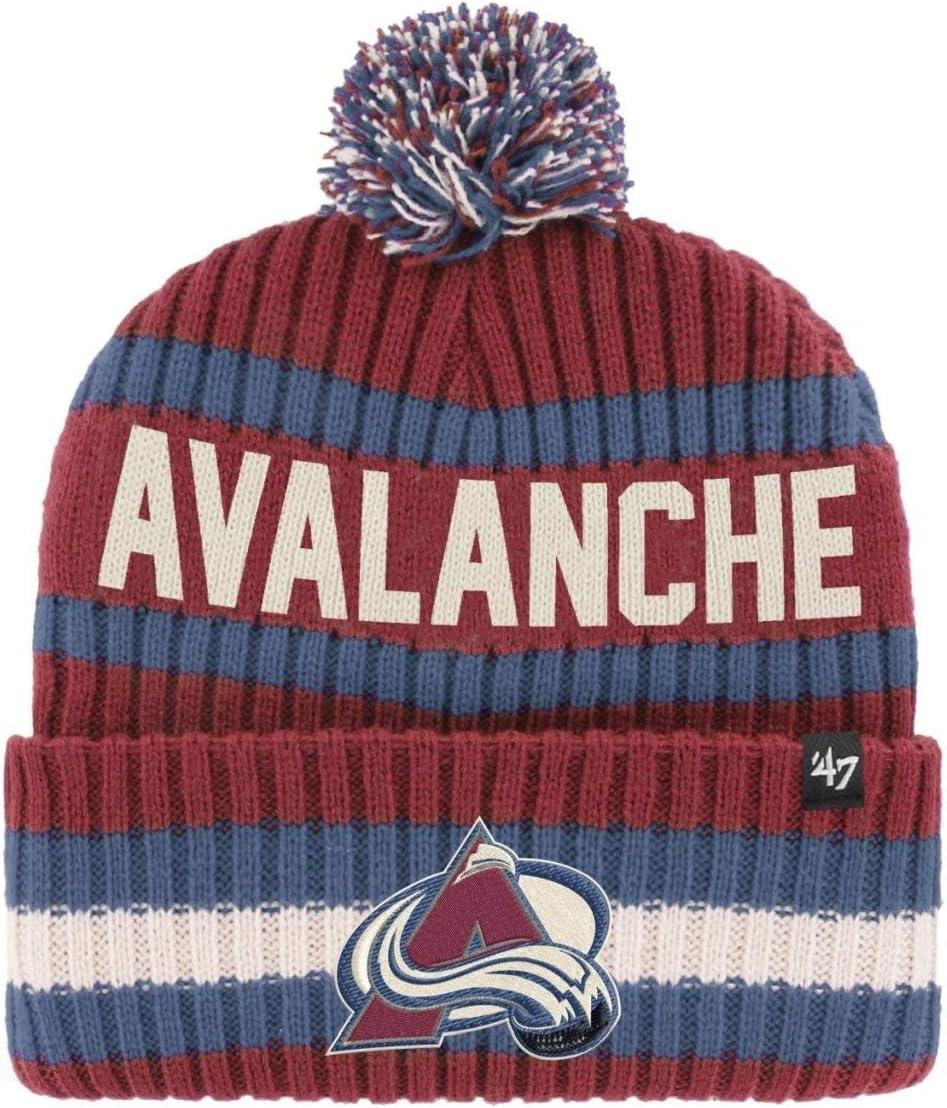 BERING Colorado Avalanche 47 Brand Knit Beanie