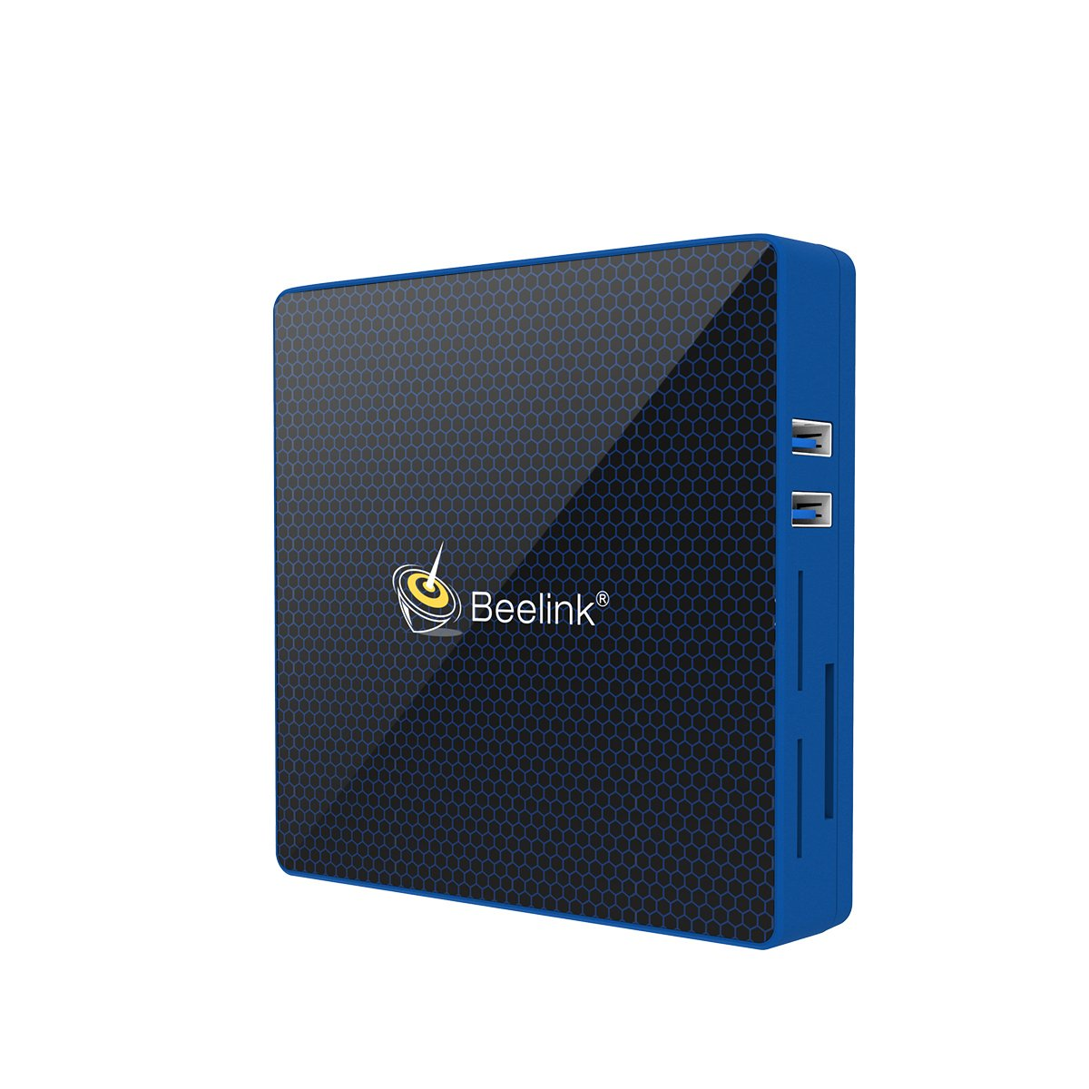 Beelink M1 Mini PC RAM 6GB ROM 64GB Intel Apollo Lake Celeron N3450 Graphics 500 Sistema Windows Pantalla de Doble Frecuencia SSD Expandible 2.4G + 5.8G WiFi 1000Mbps BT4.0