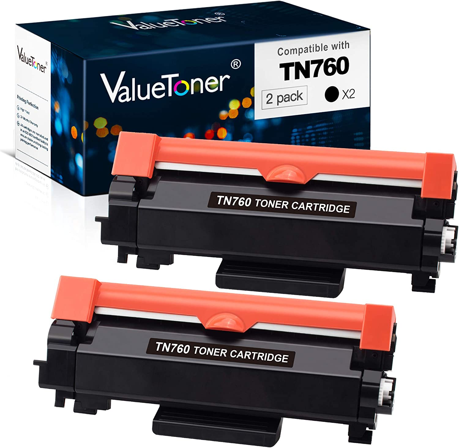 See 2nd Bullet Point for Compatible Machines Jumbo Toner On-Site Laser Compatible Toner Replacement for Brother TN550 71/% More Yield! Black TN580