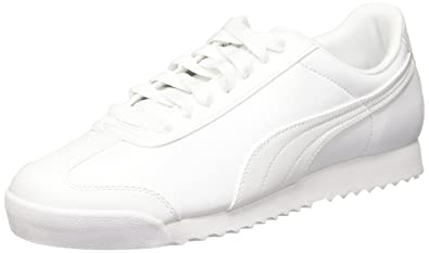 PUMA Roma Basic Sneaker Men Trainers White 353572 21 c879e2ec6