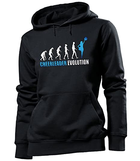 Femme X À Sweats Small Cheerleader Hoodie Capuche Evolution rBQCdxtsh