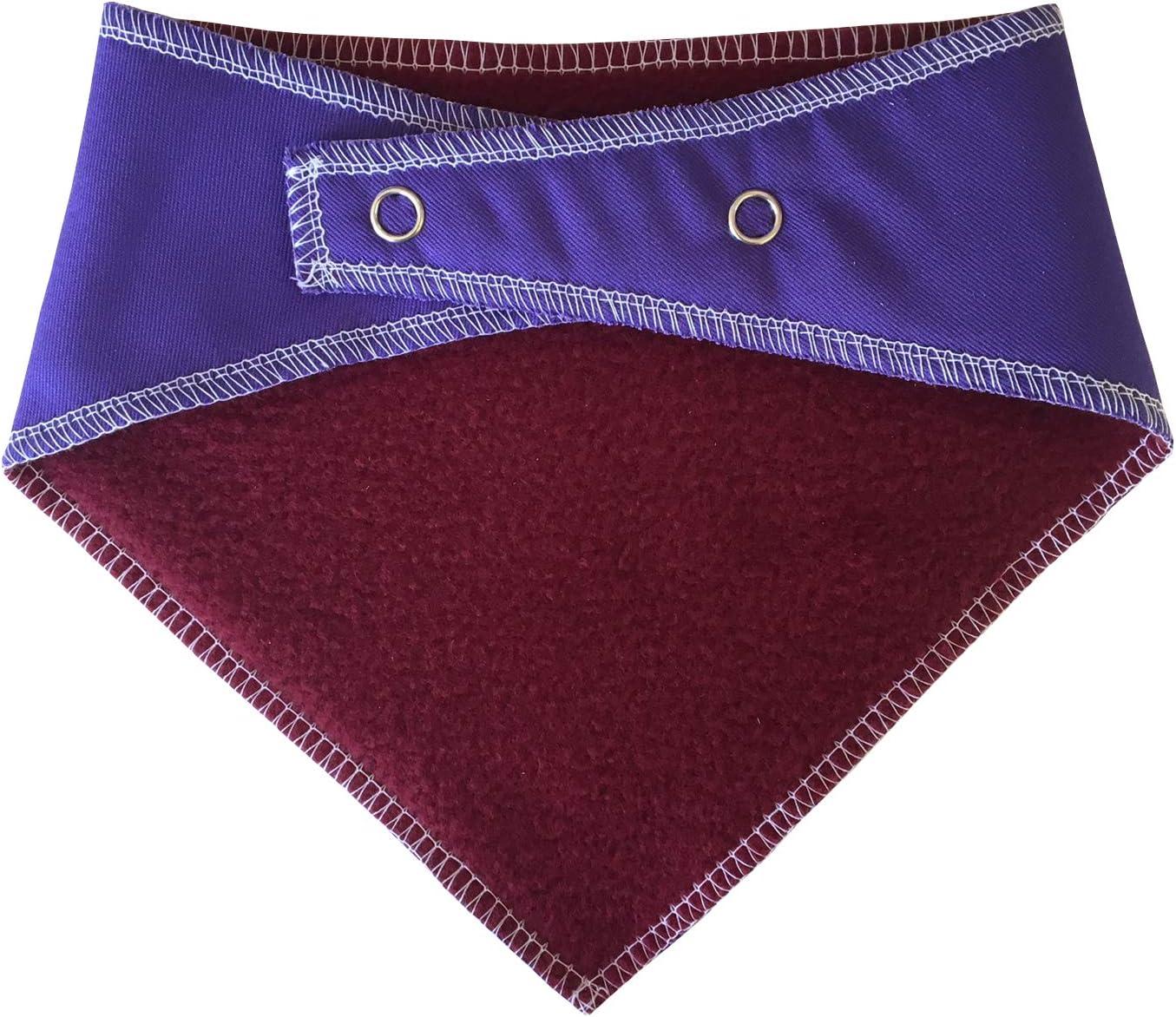Im A Keeper Purple Dog Bandana Dog Fancy Dress Harry Potter Stick /& Ball Quidditch Fans S2 Small Dogs Shih-tzu Terriers /& Cockerpoo