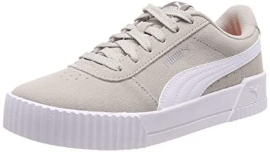 cc3b7bc519dc2 Amazon.com   Puma Women's Carina Low-Top Sneakers, Grey Gray White ...
