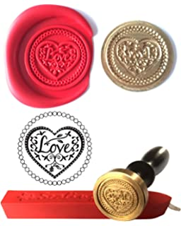 S24 Wax Stamp FLYING PHEASANT Countryside Coin Seal and Red Wax Stick XWSC054-KIT