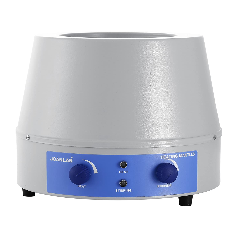 Mophorn Heating Mantle 1000ml Heating Mantle 350W Heating Mantle Magnetic Stirrer 0-1400 RPM Lab Heating Mantle for Liquid Heating