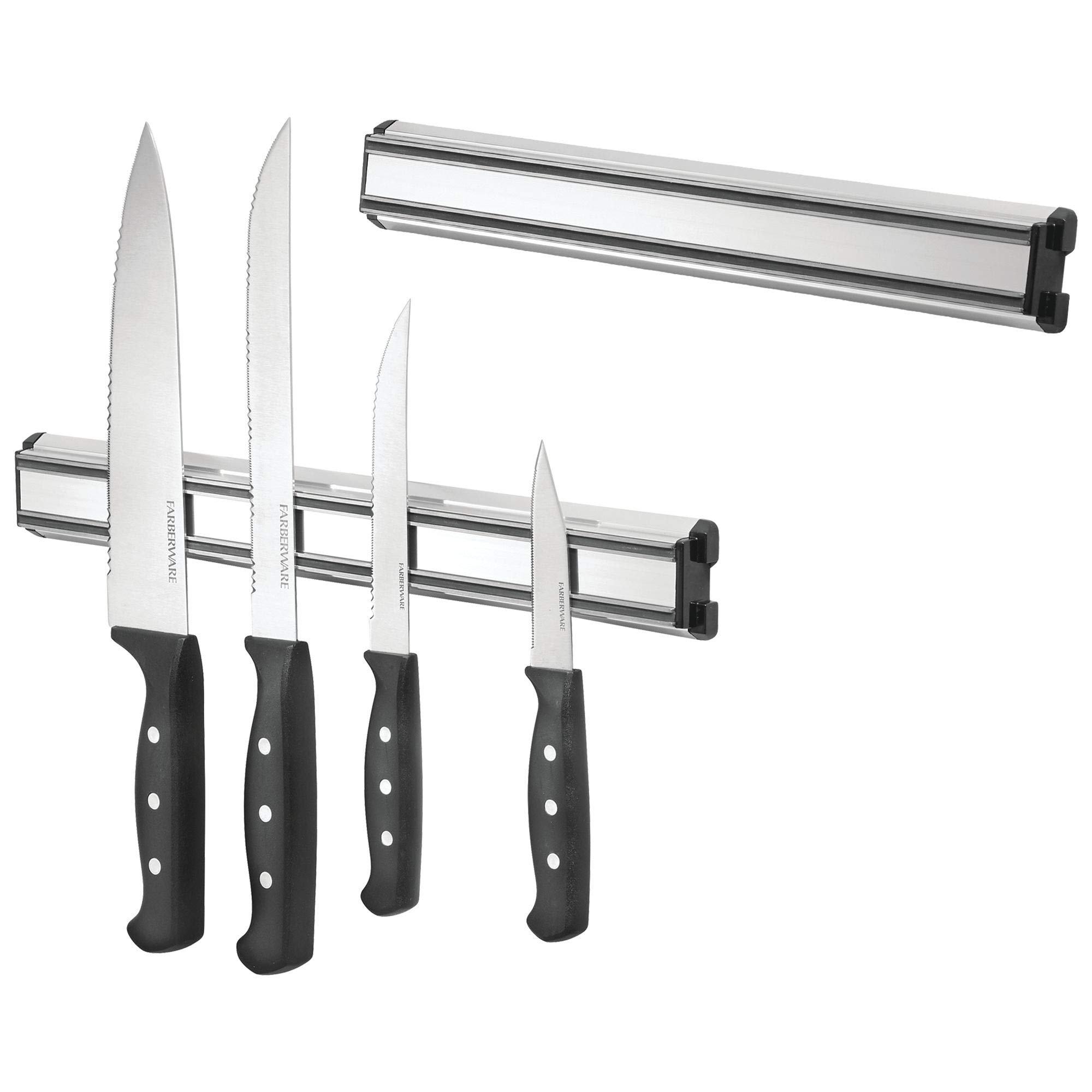 Details About MDesign Kitchen Wall Mount Magnetic Knife Holder Strip For  Knives, Utensils