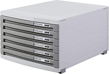 Han Contur B4/tama/ño unidad de almacenamiento de escritorio 10/cajones cerrados, color negro