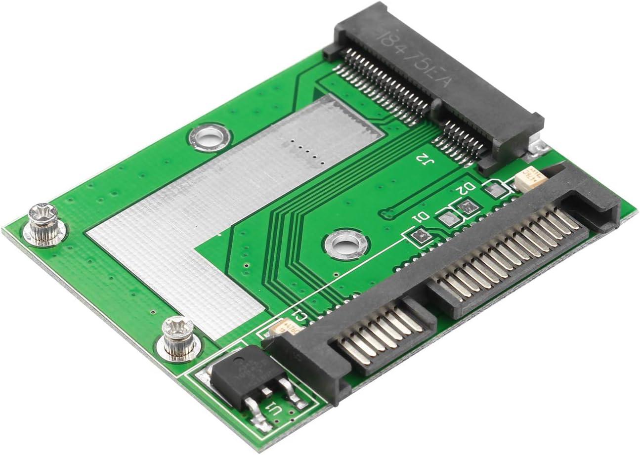 Futheda - Adaptador convertidor de SSD a SATA de 50 mm mSATA Mini ...