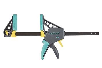 Wolfcraft 3031000-1 34EHZ Pro 100-30034 Sargento monomanual, 100 mm Largo, 53 x 26 x 4,5 cm: Amazon.es: Bricolaje y herramientas