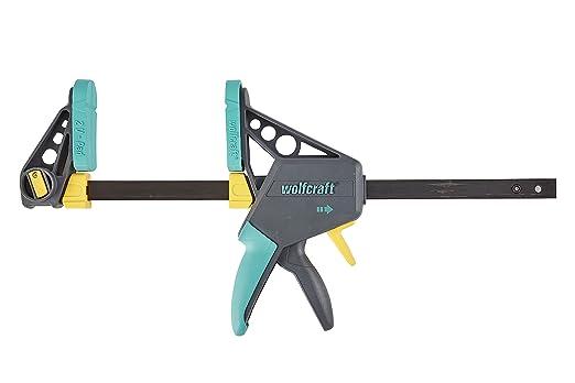 Wolfcraft 3031000-1 34EHZ Pro 100-30034 Sargento monomanual, 100 mm Largo, 53 x 26 x 4,5 cm