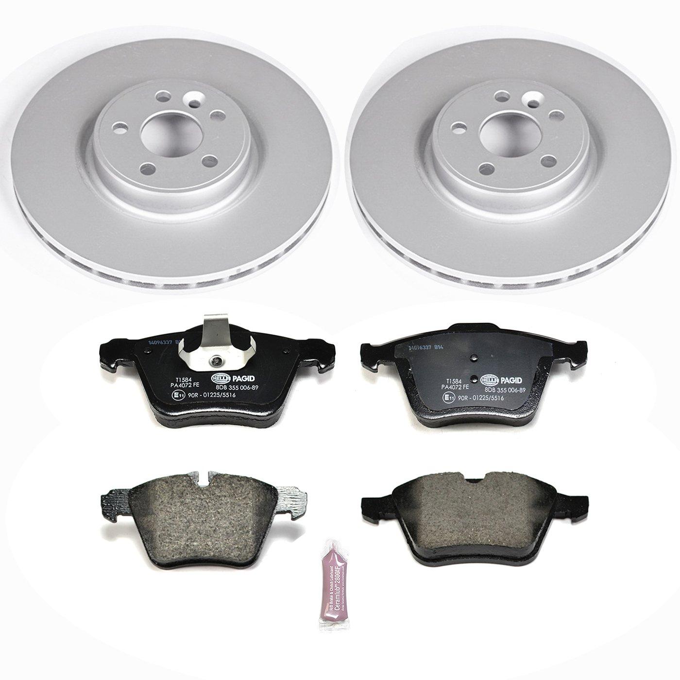 Power Stop ESK5978 Front Euro-Stop Brake Kit