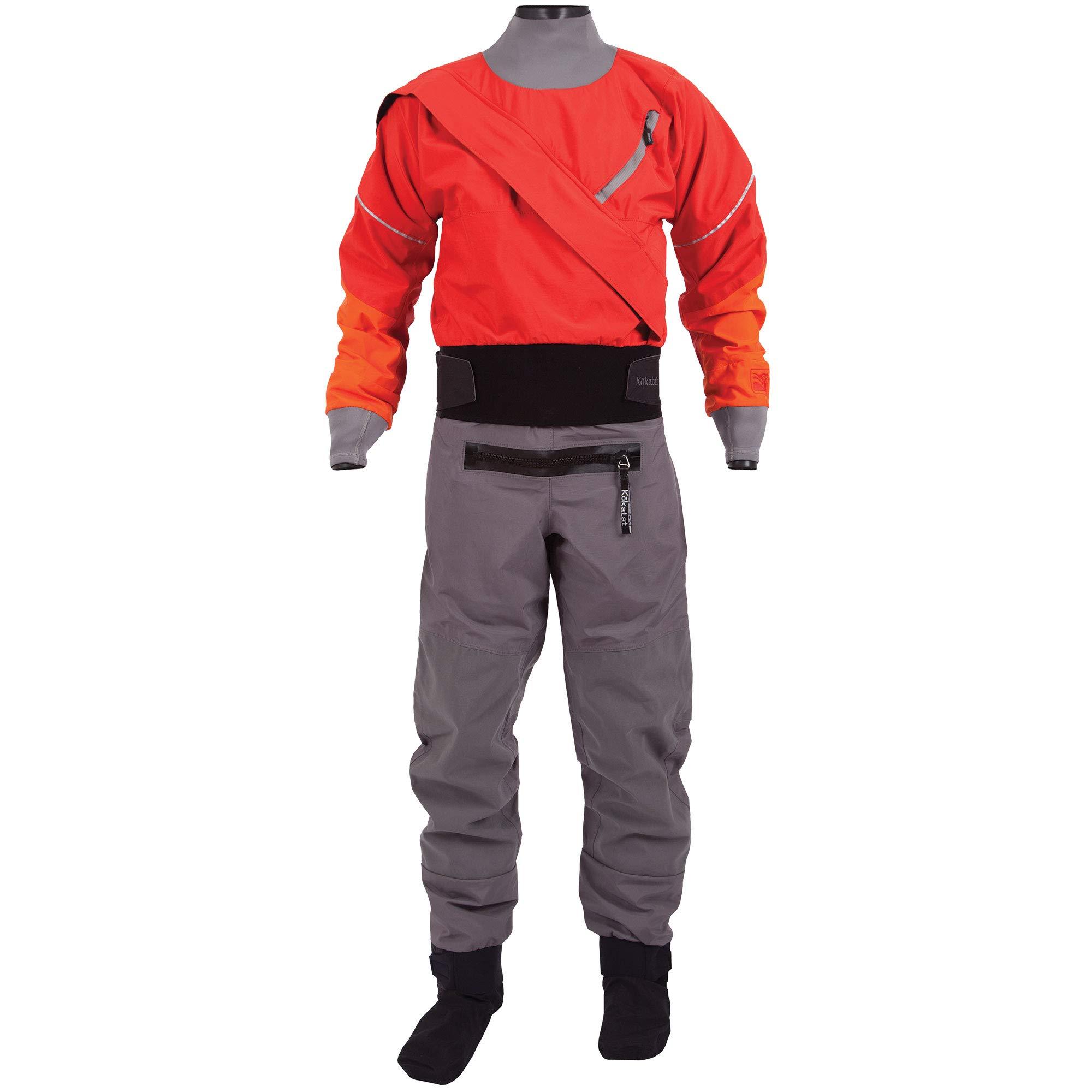 Kokatat Men's Gore-Tex Meridian Drysuit-Chili-M by Kokatat