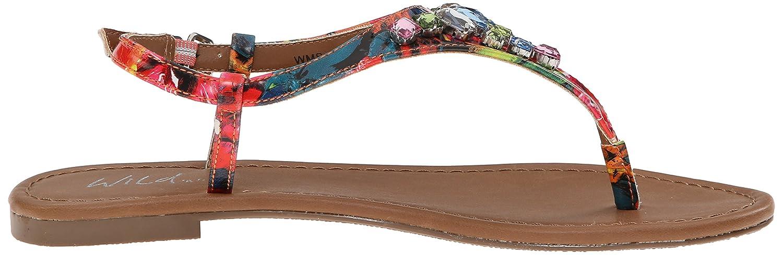 Wild Pair Womens Frazier Flat Dress Sandal