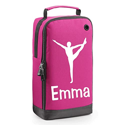 Pink Personalised Gymnast Accessory Bag with Carry Handle