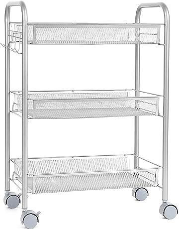 Amazon.es: Carros de almacenamiento: Hogar y cocina