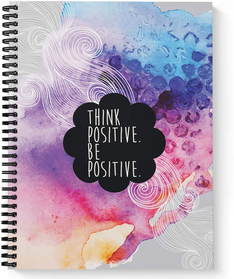 Softcover Think Positive 8.5