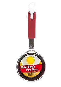 Items 4U! One Egg 'r Fry Pan, Aluminum, 2-pack