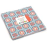 "Manderley Layer Cake, 42 - 10"" Precut Fabric Quilt Squares By Franny & Jane"