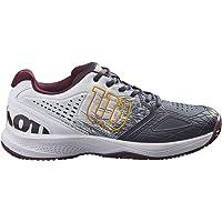 Wilson Zapatillas de deporte para hombre, KAOS COMP 2.0 CC, Gris/Blanco/Gris