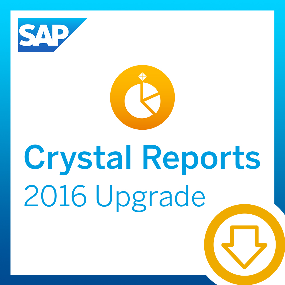 SAP Crystal Reports 2016, Upgrade [Download]