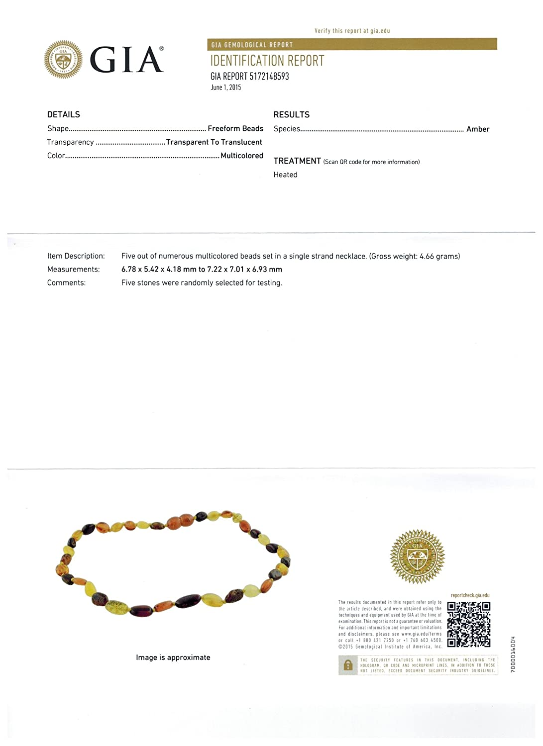 Drooling /& Teething Pain Reduce Properties Unisex Amber Teething Necklace for Babies - Anti Flammatory Certificated Natural Oval Baltic Jewelry with The Highest Quality Guaranteed.