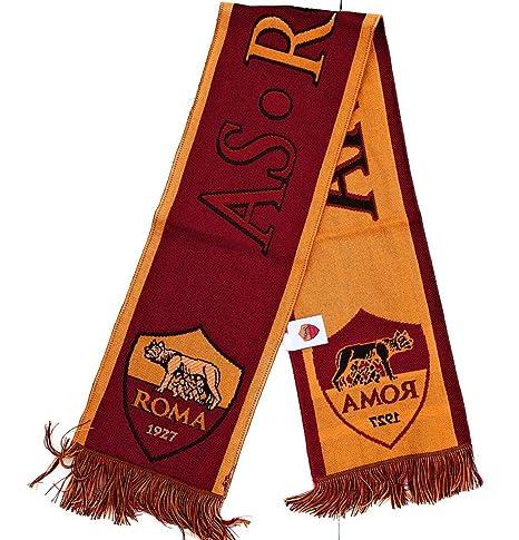 consegna veloce pregevole fattura dettagli per Sciarpa ASROMA ufficiale football club ASROMA Sciarpa Jacquard ROMA 1927  serie a italia