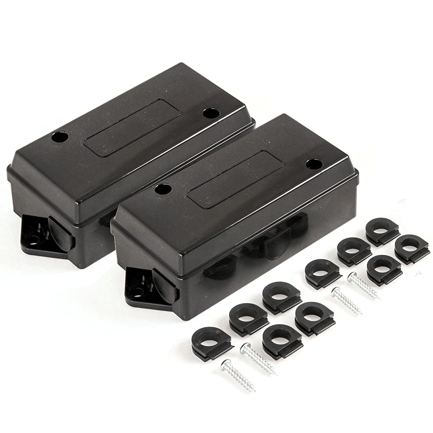 Best In Auto 2 - Trailer Wiring Junction Box for 7 Way Trailer Wire Connectors