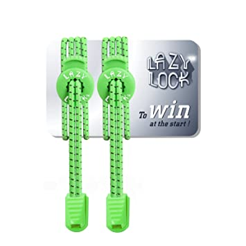 645f86ea655547 Lazy Lock 1 Pair Pull-Tight Replacement Lock shoe laces - Elastic No Tie  Shoelaces -Perfect For Running