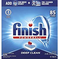 """- All in 1-85ct - Dishwasher Detergent - Powerball - Dishwashing Tablets - Dish Tabs - Fresh Scent """". 1 Pack (85…"""