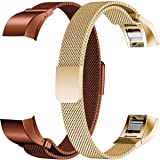 Humenn Fitbit Alta HR Band,2-Pack,Large,Compatible