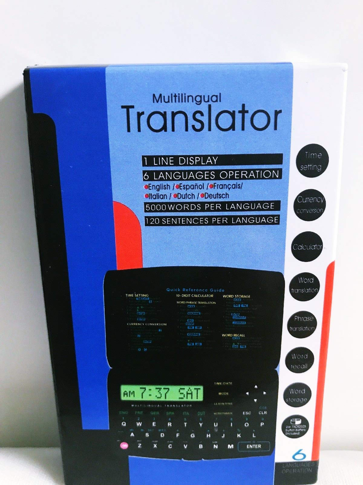 Multilingual Language Translator Currency Converter Calculator Phrase Translate