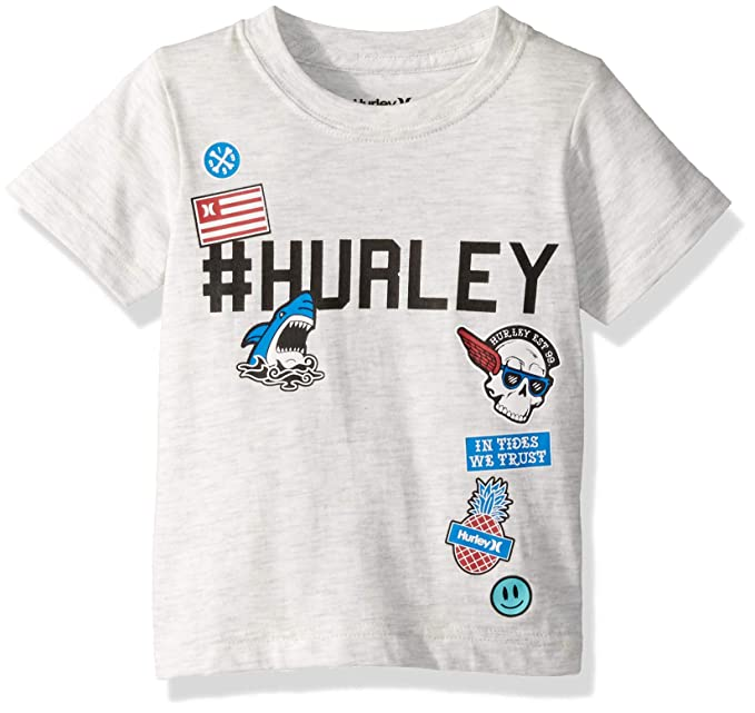 285700ab606dd Hurley - Playera Logotipo gráfico Niño  Amazon.com.mx  Ropa