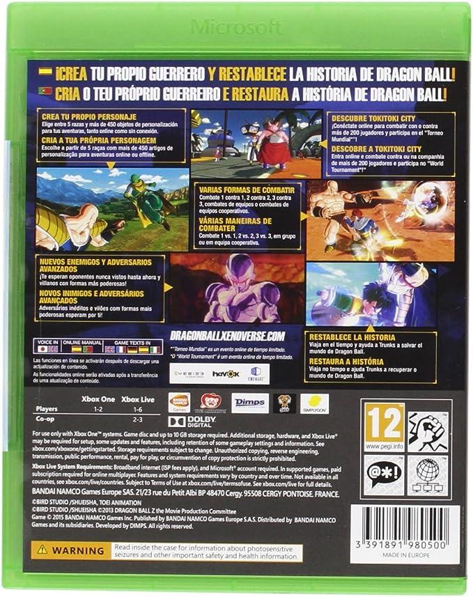 Dragon Ball: Xenoverse: Amazon.es: Videojuegos