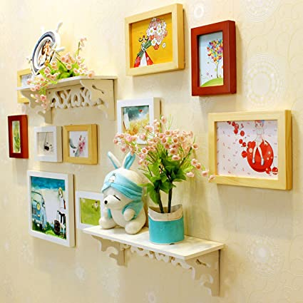 Buy WollWoll Kids Room Colorful Art Large Photo Frame Set (130 cm x ...